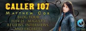 Caller 107 Blog Tour Banner